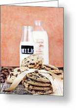 Cookies And Cream Greeting Card
