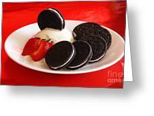 Cookies N Cream Greeting Card
