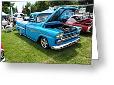 Cool Blues Classic Truck Greeting Card