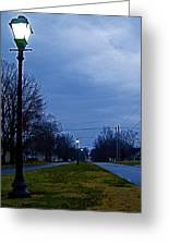 Cool Boulevard Greeting Card