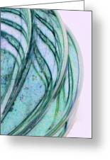 Cool Curves Greeting Card