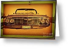 Cool Impala Greeting Card