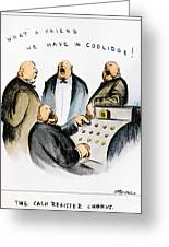 Coolidge: Cash Register Greeting Card