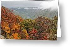 Cooper's Rock West Virginia Greeting Card