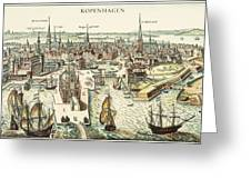 Copenhagen, C1700 Greeting Card