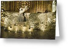 Copernicus - Wieliczka Salt Mine Greeting Card