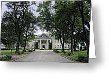 Copper King Daly's Riverside Mansion - Hamilton Montana Greeting Card
