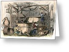 Coppersmiths, C1865 Greeting Card