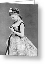 Cora Pearl (c1835-1886) Greeting Card