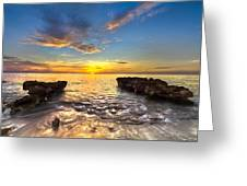 Coral Tides Greeting Card