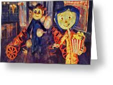 Coraline Circus Greeting Card