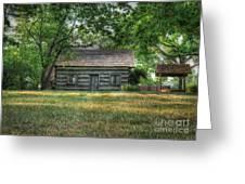 Corbett's Cabin Greeting Card by Pamela Baker