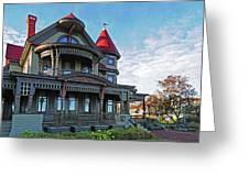 Corbin Norton House Marthas Vineyard Greeting Card