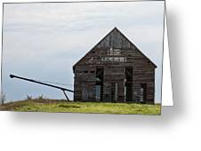 Corncrib Greeting Card
