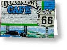 Corner Cafe Greeting Card