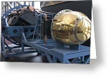 Corona Spy Satellite Greeting Card