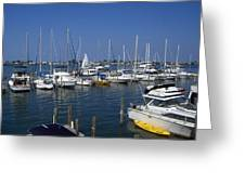 Cortez Marina Greeting Card