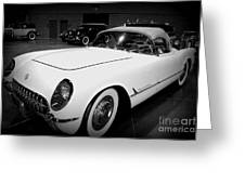 Corvette 55 Convertible Greeting Card