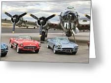 Corvette Club 01 Greeting Card