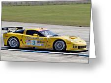 Corvette Racing C6r 3 Greeting Card