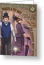Cosets And Top Hats Greeting Card
