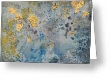 Cosmic 25 No. 2 Greeting Card by Rita Bentley