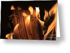 Cosmic Fire Greeting Card