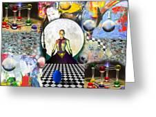 Cosmic Portal Greeting Card