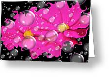 Cosmos In Space.... Greeting Card