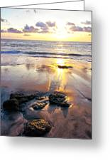 Costa Rican Sunset Greeting Card