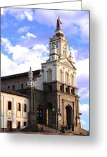 Cotacachi Cathedral Greeting Card