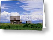 Cottage At Bay Of Chaleur Greeting Card