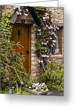 Cottage At Castle Combe Greeting Card