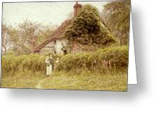 Cottage At Pinner Middlesex Greeting Card