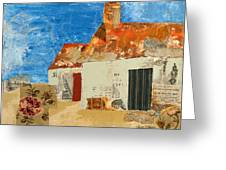 Cottage By The Sea Greeting Card