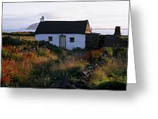 Cottage, Near Dunquin, Dingle Greeting Card
