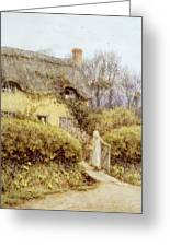 Cottage Near Freshwater  Greeting Card