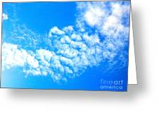 Cotton Candy Sky Greeting Card