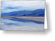 Cottonball Basin Death Valley Greeting Card