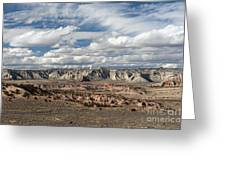 Cottonwood Canyon Badlands Greeting Card