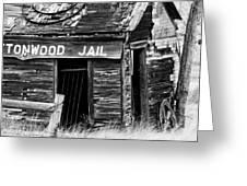 Cottonwood Jail Greeting Card