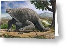 Cotylorhynchus Bransoni, A Prehistoric Greeting Card