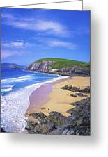 Coumeenoole Beach, Dingle Peninsula, Co Greeting Card