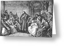 Council Of Constance, 1414 Greeting Card by Granger