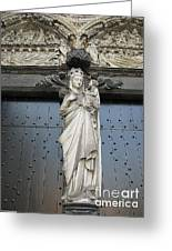 Count Your Blessings- St Mary Of Brugge- 01 Greeting Card