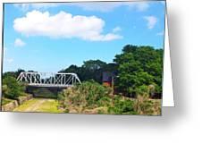 Country Bridge Greeting Card