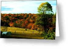 Country Camping Greeting Card