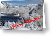 Country Christmas 2 Greeting Card