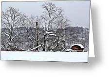 Country Christmas 5 Greeting Card