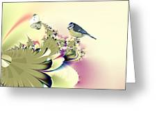 Country Garden Greeting Card by Sharon Lisa Clarke